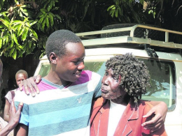 Ater Roy meets his grandmother, who raised him after he was orphaned, for the first time in seven years.